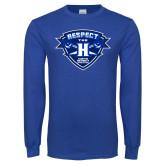 Royal Long Sleeve T Shirt-Respect The H
