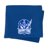 Royal Sweatshirt Blanket-Hampton Pirates