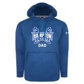 Under Armour Royal Performance Sweats Team Hoodie-Dad