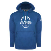Under Armour Royal Performance Sweats Team Hoodie-Vertical Football Design