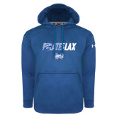 Under Armour Royal Performance Sweats Team Hoodie-LAX Design