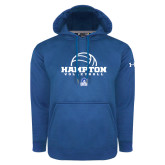 Under Armour Royal Performance Sweats Team Hoodie-Volleyball Ball Design