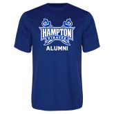 Syntrel Performance Royal Tee-Alumni