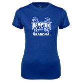 Ladies Syntrel Performance Royal Tee-Grandma