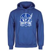 Royal Fleece Hoodie-Hampton Pirates