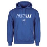 Royal Fleece Hoodie-LAX Design