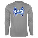 Syntrel Performance Steel Longsleeve Shirt-Hampton Pirates Swords