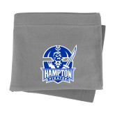 Grey Sweatshirt Blanket-Hampton Pirates