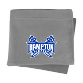 Grey Sweatshirt Blanket-Hampton Pirates Swords