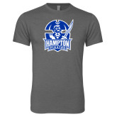 Next Level Premium Heather Tri Blend Crew-Hampton Pirates