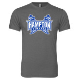 Next Level Premium Heather Tri Blend Crew-Hampton Pirates Swords