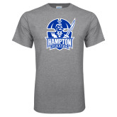 Grey T Shirt-Hampton Pirates