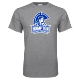 Grey T Shirt-Hampton Lady Pirates