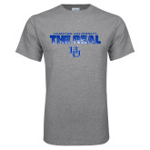 Grey T Shirt-The Real HU