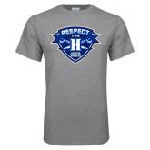 Grey T Shirt-Respect The H