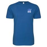 Next Level SoftStyle Royal T Shirt-Hampton Pirates