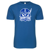 Next Level SoftStyle Royal T Shirt-Hampton Pirates