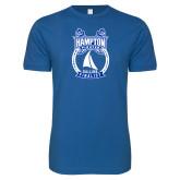 Next Level SoftStyle Royal T Shirt-Hampton Sailing Championship Finalist
