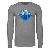 Grey Long Sleeve T Shirt-Celebrating A Legacy and A Legend of Excellence