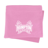 Pink Sweatshirt Blanket-Hampton Pirates Swords