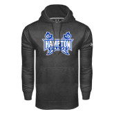 Under Armour Carbon Performance Sweats Team Hoodie-Hampton Pirates Swords