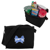 Six Pack Black Cooler-Hampton Pirates Swords