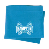 Light Blue Sweatshirt Blanket-Hampton Pirates Swords