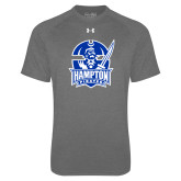 Under Armour Carbon Heather Tech Tee-Hampton Pirates