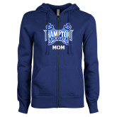 ENZA Ladies Royal Fleece Full Zip Hoodie-Mom