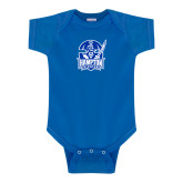Royal Infant Onesie-Hampton Pirates