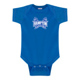 Royal Infant Onesie-Hampton Pirates Swords