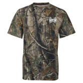 Realtree Camo T Shirt-Hampton Pirates Swords