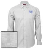 Red House White Diamond Dobby Long Sleeve Shirt-Hampton Pirates Swords