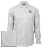 Red House White Diamond Dobby Long Sleeve Shirt-HU