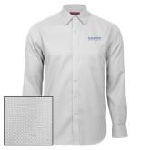 Red House White Diamond Dobby Long Sleeve Shirt-University Mark