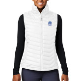 Columbia Lake 22 Ladies White Vest-Hampton Pirates