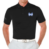 Callaway Opti Vent Black Polo-Hampton Pirates Swords