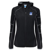 Columbia Ladies Sweet As Black Hooded Jacket-Hampton Pirates