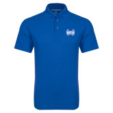 Royal Dry Zone Grid Polo-Hampton Pirates Swords