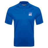 Royal Textured Saddle Shoulder Polo-Hampton Pirates