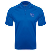 Royal Textured Saddle Shoulder Polo-HU