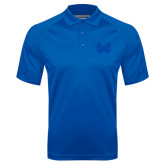 Royal Textured Saddle Shoulder Polo-Hampton Pirates Swords