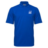 Royal Mini Stripe Polo-Hampton Pirates