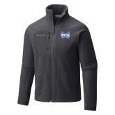 Columbia Full Zip Charcoal Fleece Jacket-Hampton Pirates Swords