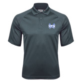 Charcoal Dri Mesh Pro Polo-Hampton Pirates Swords
