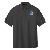 Charcoal Easycare Pique Polo-Hampton Pirates