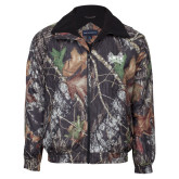 Mossy Oak Camo Challenger Jacket-Hampton Pirates Swords