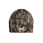 Mossy Oak Camo Fleece Beanie-Hampton Pirates Swords