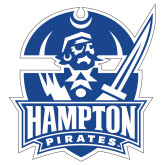 Extra Large Magnet-Hampton Pirates, 18 inches tall