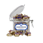 Snickers Satisfaction Small Round Canister-Hampton Pirates Swords